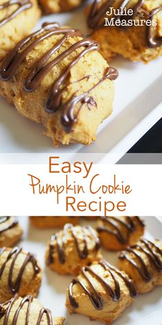 Looking for the best pumpkin cookies? Easy Pumpkin Cookie Recipe Looking for the best pumpkin cookies? Cookie Recipes From Scratch, Delicious Cookie Recipes, Easy Cookie Recipes, Pumpkin Cookie Recipe, Pumpkin Cookies, Pumpkin Dessert, Ginger Cookies, Yummy Cookies, Easy Homemade Cookies