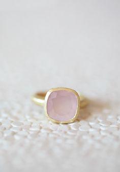 Light Of My Life Indie Pink Stone Ring | Modern Vintage Rings | Modern Vintage Jewelry