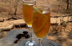 Mkulumadzi Lodge's Ice Tea. Simple and refreshing! Make it for yourself at home using the recipe on our Flavours of Africa cook book.