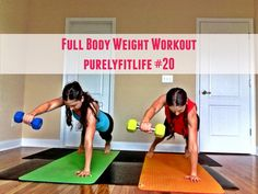 FULL body WEIGHT workout