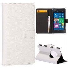 Capa Lumia 1020 - Tipo Carteira Branca  R$36,57