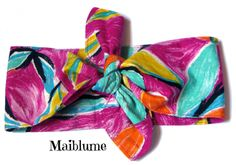 Haarband *Tropical Style* von Maiblume - fiore di maggio auf DaWanda.com