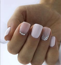 Trendy Square Nail Art Ideas For Short Acrylic These trendy Nail Designs ideas would gain you amazing compliments. Check out our gallery for more ideas these are trendy this year. Nails Trendy Square Nail Art Ideas For Short Acrylic Nails Square Nail Designs, Elegant Nail Designs, Short Nail Designs, Elegant Nails, Nail Designs For Winter, White Tip Nail Designs, Light Pink Nail Designs, New Years Nail Designs, Acrylic Nails Natural