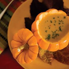 Pumpkin Ginger soup…this has mango nectar in it.