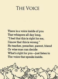 A Daily Dose of Fit: Do you listen to the voice within? (#pinspirationthursday)