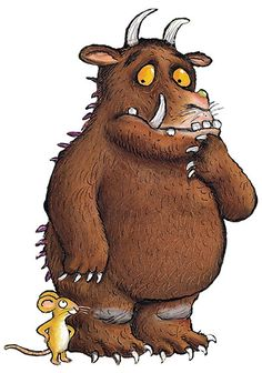 Oh the Gruffalo, don't you know there is no such a thing as a Gruffalo !