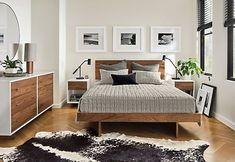 Moda Dressers - Modern Dressers - Modern Bedroom Furniture - Room & Board - March 09 2019 at Modern Master Bedroom, Modern Bedroom Furniture, Modern Bedroom Design, Minimalist Bedroom, White Bedroom, Modern Room, Home Decor Bedroom, Living Room Furniture, Modern Beds