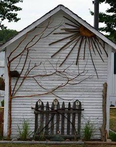 Rustic Side of Shed