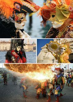 Rio de Janeiro, New Orleans and Venice: carnivals secrets - Río de Janeiro, Nueva Orleans y Venecia: los secretos de sus carnavales.