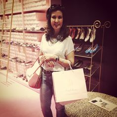 Hoje foi dia de receber a Pretty Fatima Bernardes @fbbreal aqui na PrettyBallerinas! Adoramos!  #fatimabernardes #encontro #prettyballerinas #prettyballerinasbrasil #prettyloafers #happy
