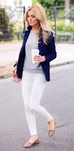 Amazing Winter White Skinny Jeans Outfits Ideas 10