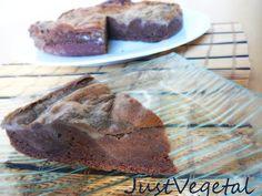 Pastel de Sarraceno, Cacao y Compota de Plátano