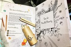 """Hi Beauties 😘 I'm loving the idea behind this colouring book and pencils that was in the gift bag…"""