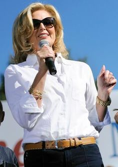 Ann Romney Goes Casual.... Love Her...