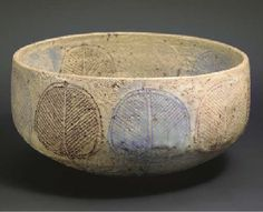 Lucie Rie, 1961   A LARGE STONEWARE BOWL