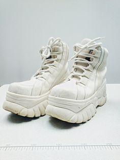 4e95eb7ca2b8 90s ORIGINAL spice girls sneakers CLUB kid sneakers RAVE sneakers platform  sneakers chunky sneakers   Size 8 us   5.5 uk   38.5 eu