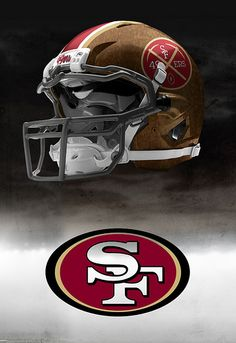 49ers leather look #49ers #niners