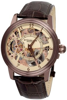 stuhrling original 368b 3345k54 symphony aristocrat gemini ii stuhrling original men s watch comprar un reloj asi de bonito