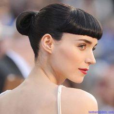 Bun-hairstyles-red-carpet-hairstyles-Oscar-2012-Rooney-Mara