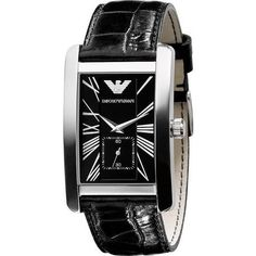 EMPORIO ARMANI MENS WATCH AR0143 Visit: https://www.watchista.co.uk/collections/armani-men/products/emporio-armani-mens-watch-ar0143