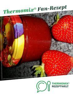 Erdbeer-Marmelade, super einfach und lecker!! von Pippi16. Ein Thermomix ® Rezept aus der Kategorie Saucen/Dips/Brotaufstriche auf www.rezeptwelt.de, der Thermomix ® Community.