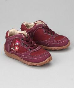 Take a look at this Geox Bordeaux Baby Lolly Sneaker by This Little Piggy: Kids' Footwear on #zulily today!