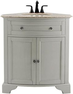 Hamilton Corner Wall Cabinet from Home Decorators | Bathroom ...