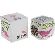 """Rob Ryan """"Pick Up a Penny"""" Money Box (£9.32) ❤ liked on Polyvore featuring multi"""
