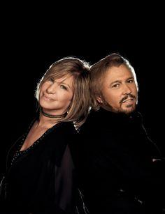 Barbara Streisand With Barry Gibb