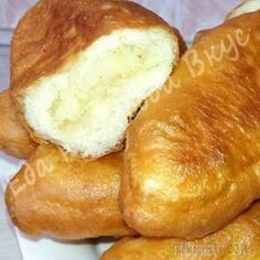 Fried pies with potatoes. Armenian Recipes, Ukrainian Recipes, Russian Recipes, Savoury Baking, Bread Baking, Appetizer Recipes, Dessert Recipes, Slow Cooker Recipes, Cooking Recipes