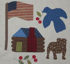 """""""In the fall my friend Laurel noticed I pinned The Spirit of Sacagawea quilt to my quilt board on Pinterest.  She then emailed and asked me if this was a quilt we could each make and have sewing time together..."""""""