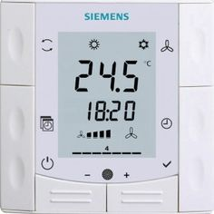 Siemens RDF600T , Semi Flush-mount room thermostat 1
