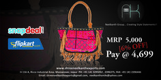 Shop stylish handbags with us. Offers available on Flipkart and Snapdeal follow the link below to get to the bags immediately:  http://bit.ly/1X48J1I