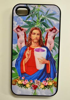 Weed Jesus phone case | Community Post: 17 Gifts For Your Stoner Friend