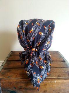 Vintage bohemian head scarf hippie gypsy boho by thejadedorris