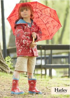 Hatley Red Dino Bones Boy's' Raincoat £28, available from selected stores... www.oldrids.co.uk