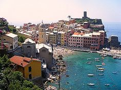 Vernazza- - town of the Cinque Terre