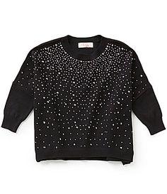 GB Girls Little Girls 46X DolmanSleeve Embellished Sweater #Dillards