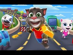 TALKING TOM GOLD RUN - TOM'S HOME UPGRADE - Games For Kids