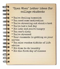 Open When Letter Ideas for College Students gift for college students I Survived College Drop Off - Evolution of Style Letter To Daughter, Letters To My Son, Open When Letters, Parent Letters, College Parties, College Gifts, College Mom, College Years, College Hacks
