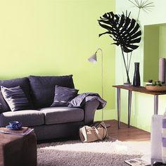Color de pared verde claro