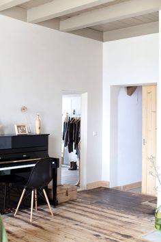 Balken plafond kleur