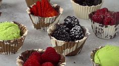 Chocolate Dessert Cup Recipe - Have your cup and eat it too! Plus make a little tart!!