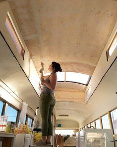 Different style of Raised roof bus schoolie