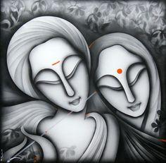 Indian artist K.Prakash Raman