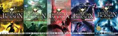 Percy Jackson Series by Rick Riordan