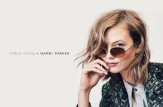 """#Karlie #Kloss designt Sonnenbrillen für Warby Parker   #Fashion Insider Magazin - Auch Model Karlie Kloss versucht sich bekanntlich als Designerin. In den letzten Wochen haben wir schon viel über ihre Sonnenbrillen-Kollektion für Warby Parker gehört, wozu auch eine exklusive Preview in der """"Vogue"""" gehört, nun sind die schicken Kreationen endlich zu haben."""