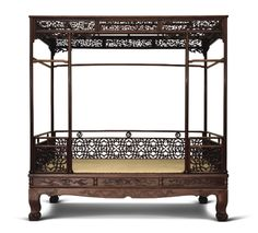 Asian Bedroom, Antique Chinese Furniture, Thai House, Enchanted Home, Home Upgrades, Qing Dynasty, Beautiful Architecture, Canopy, Interior And Exterior