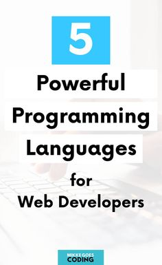 What programming language should you learn to start a web developer career? Find the best language for web development and start learning now. Computer Programming Languages, Coding Languages, Learn Programming, Coding Websites, Coding Courses, Learn Computer Science, Computer Coding, Learning Web, Learning Resources