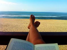 #beach #readingplace #book #vacations